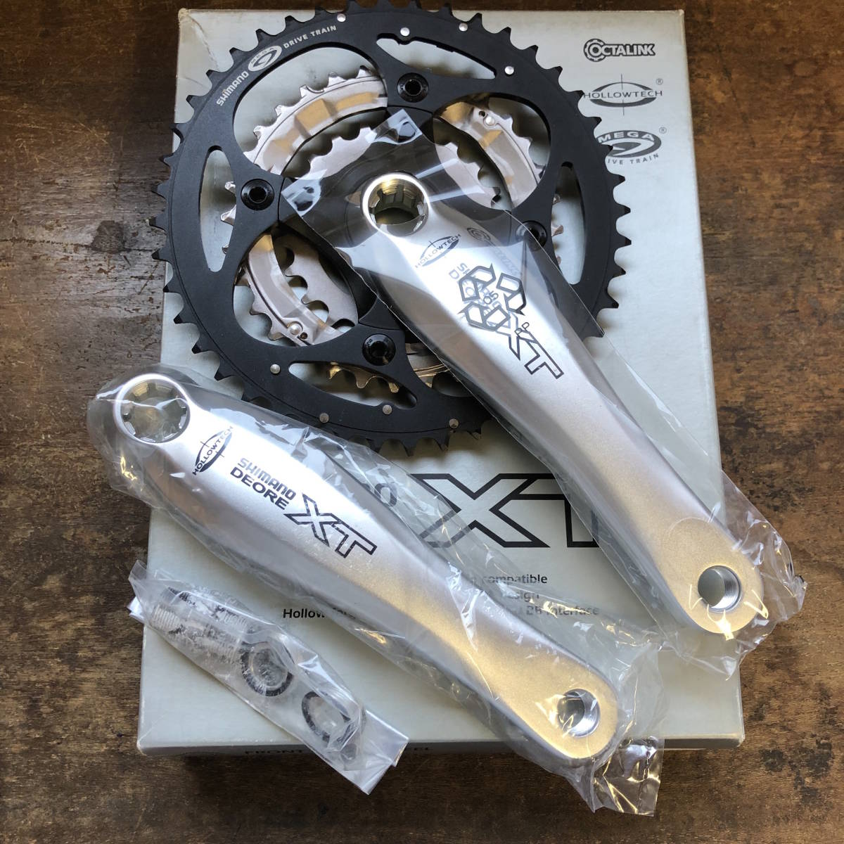 SHIMANO / DEORE XT FC-M752 175 NEW OLD STOCK _画像1