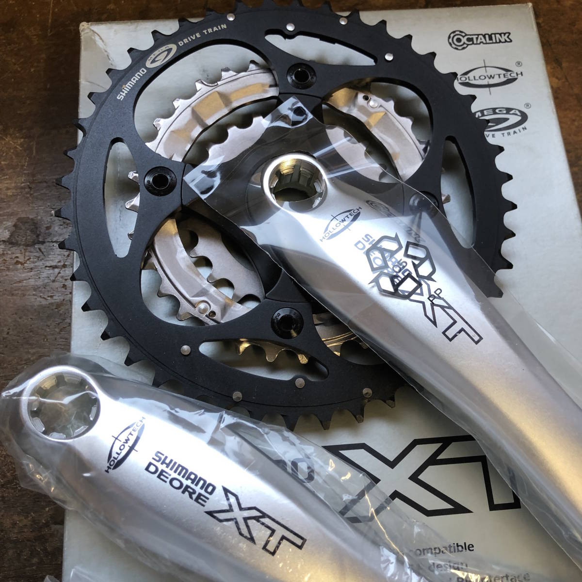 SHIMANO / DEORE XT FC-M752 175 NEW OLD STOCK _画像2