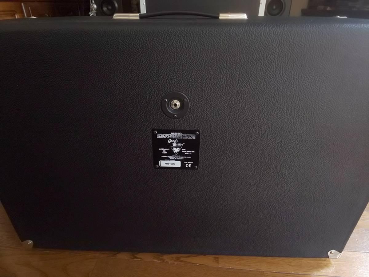 フェンダー バンドマスター VM212 Celestion G12P-80 2発搭載キャビネット 美品 送料無料 エンクロージャー_画像2