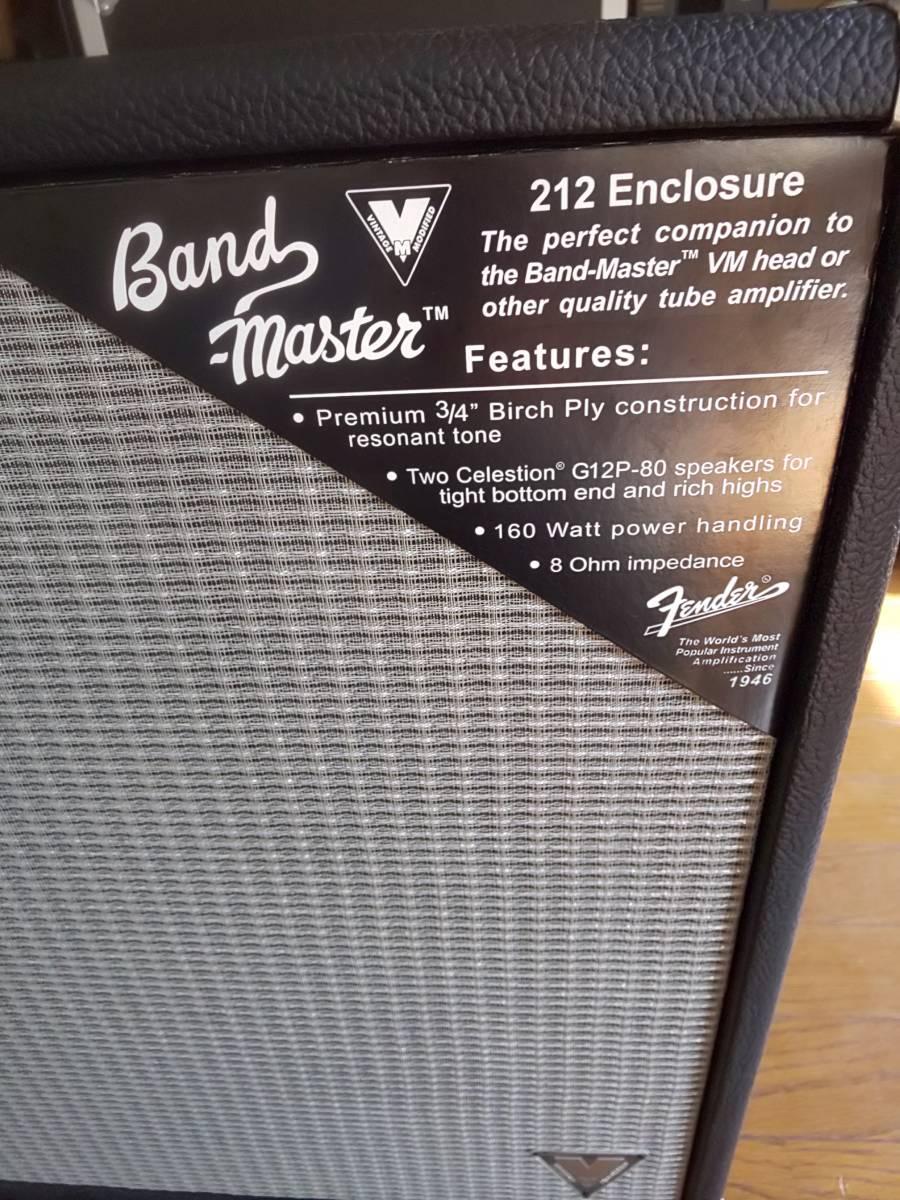 フェンダー バンドマスター VM212 Celestion G12P-80 2発搭載キャビネット 美品 送料無料 エンクロージャー_画像5
