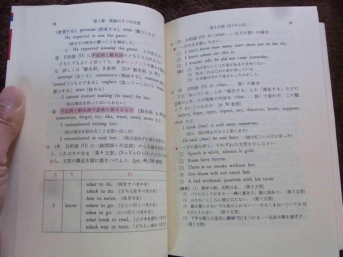 a946 新しい学習英文法 山崎英夫 昭和58初_画像3