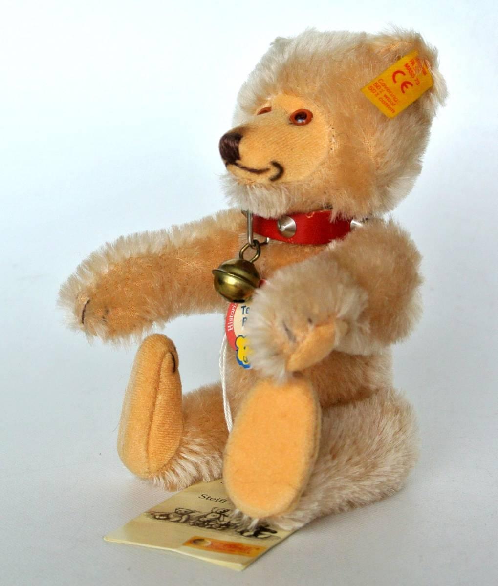 シュタイフ  1992~1998年 ヒストリック ミニチュア Teddy Baby 16cm_画像4