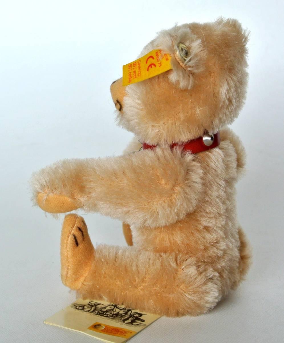 シュタイフ  1992~1998年 ヒストリック ミニチュア Teddy Baby 16cm_画像5