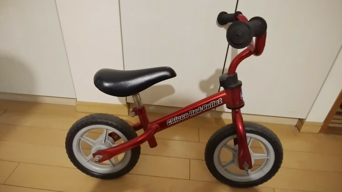 CHICCO キッコ Red Bullet キッズバランスバイク ストライダー_画像1