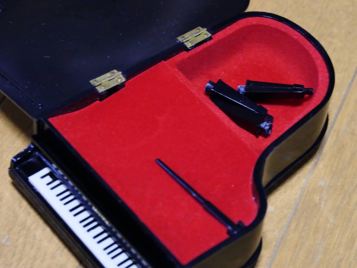 希少 ヤマハ ノベルティ グランドピアノ型オルゴール 日本製 ミニチュア YAMAHA グランドピアノ グッドデザイン 昭和 レトロ 全国一律510円_画像6
