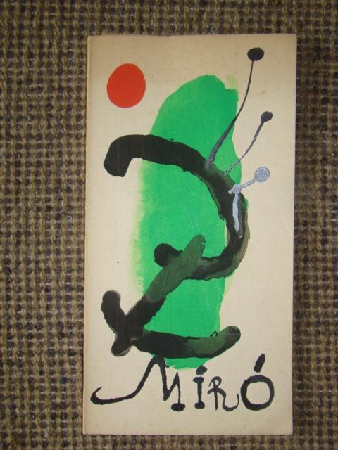 ジョアン・ミロ版画集◆木版画・リトグラフ20点余挿入★ポールエリュアール詩より昭和33(1953)パリGerggruen
