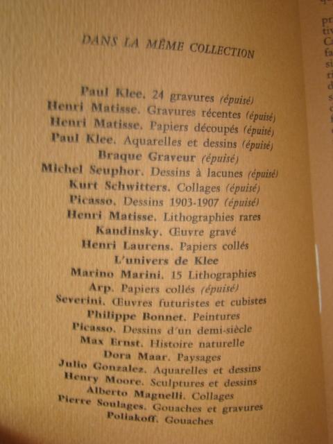 ジョアン・ミロ版画集◆木版画・リトグラフ20点余挿入★ポールエリュアール詩より昭和33(1953)パリGerggruen_画像3