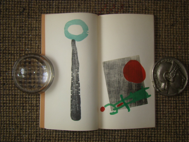 ジョアン・ミロ版画集◆木版画・リトグラフ20点余挿入★ポールエリュアール詩より昭和33(1953)パリGerggruen_画像7
