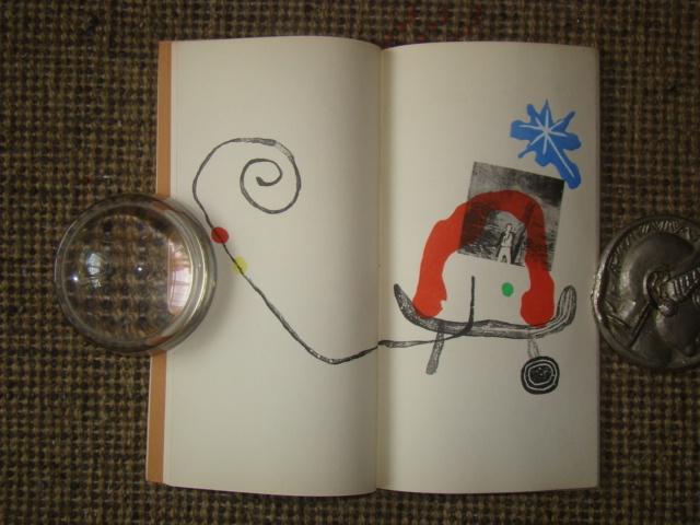 ジョアン・ミロ版画集◆木版画・リトグラフ20点余挿入★ポールエリュアール詩より昭和33(1953)パリGerggruen_画像8