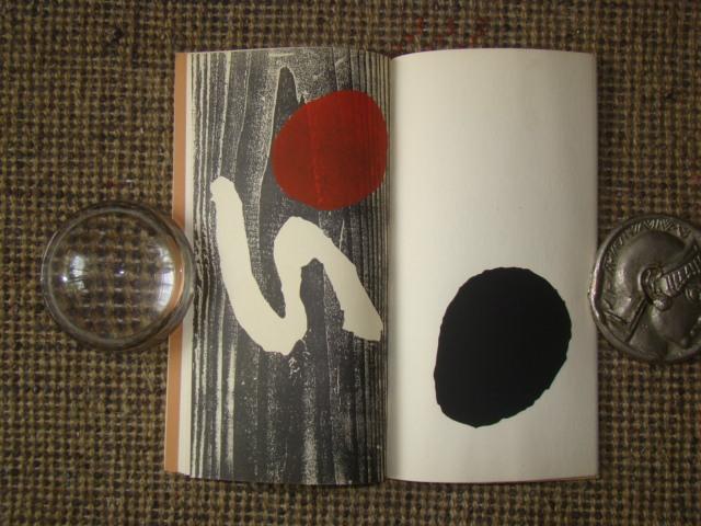 ジョアン・ミロ版画集◆木版画・リトグラフ20点余挿入★ポールエリュアール詩より昭和33(1953)パリGerggruen_画像9