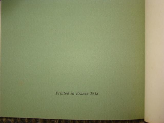 ジョアン・ミロ版画集◆木版画・リトグラフ20点余挿入★ポールエリュアール詩より昭和33(1953)パリGerggruen_画像10