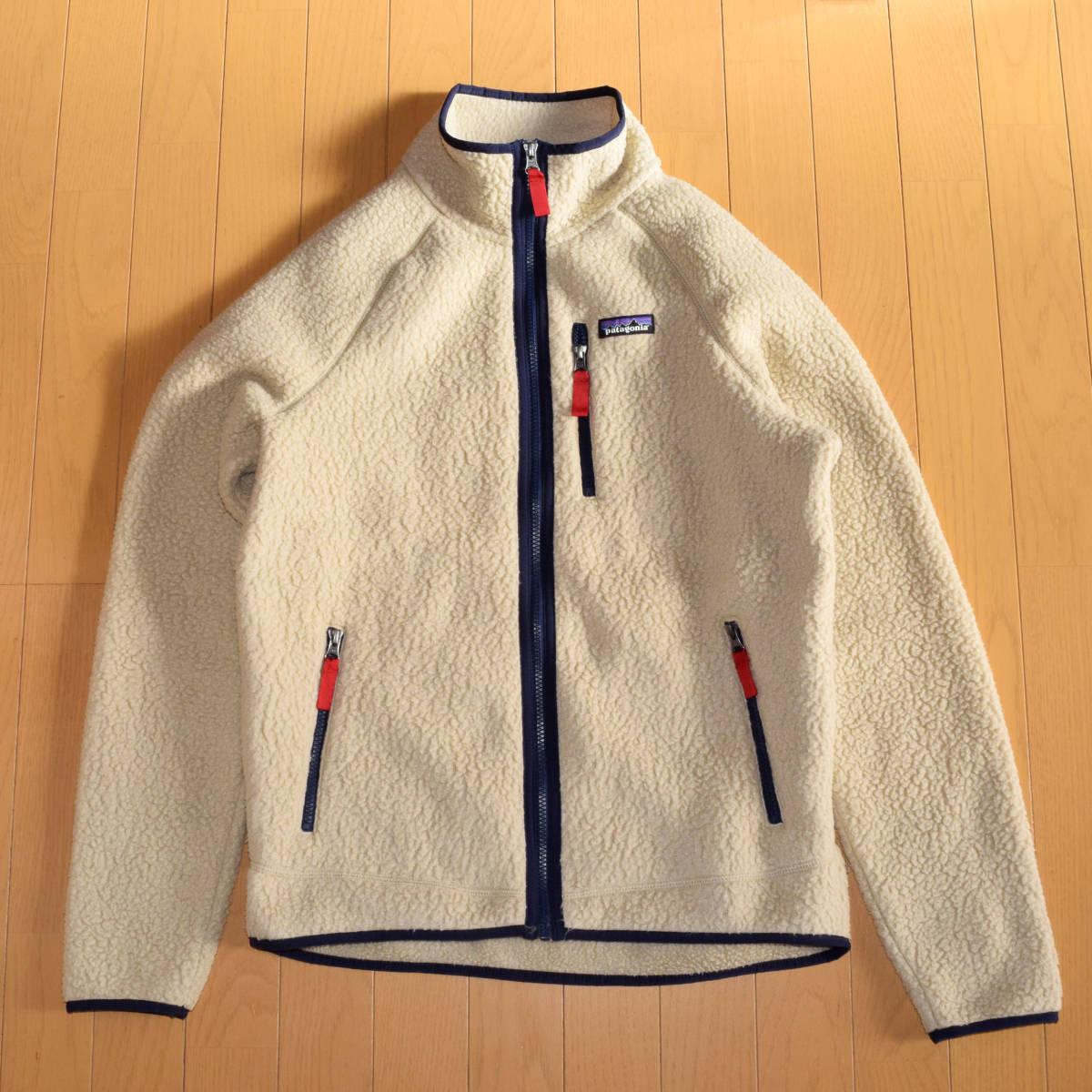 美品!人気カラー patagonia パタゴニア MEN'S retro pile jacket M サイズ レトロパイル ジャケット レトロX 希少カラー