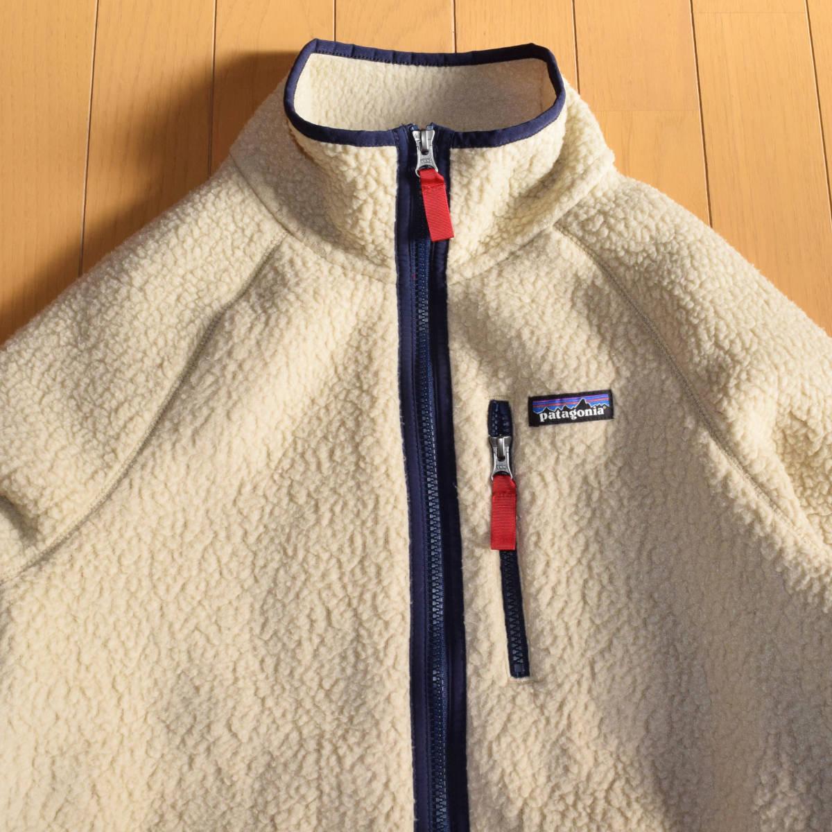 美品!人気カラー patagonia パタゴニア MEN'S retro pile jacket M サイズ レトロパイル ジャケット レトロX 希少カラー _画像2