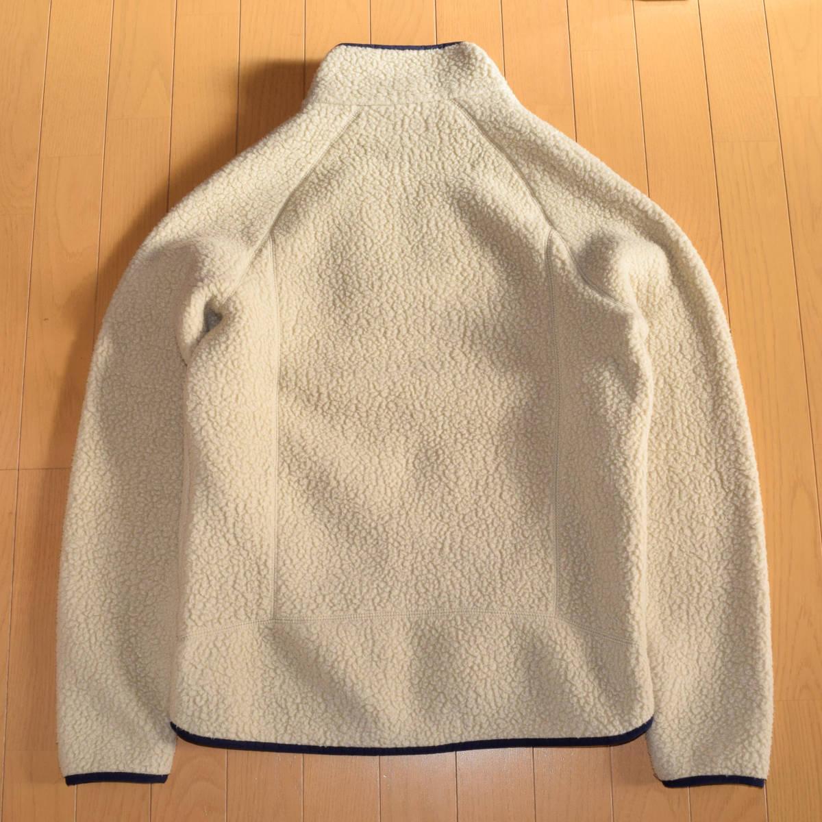 美品!人気カラー patagonia パタゴニア MEN'S retro pile jacket M サイズ レトロパイル ジャケット レトロX 希少カラー _画像9