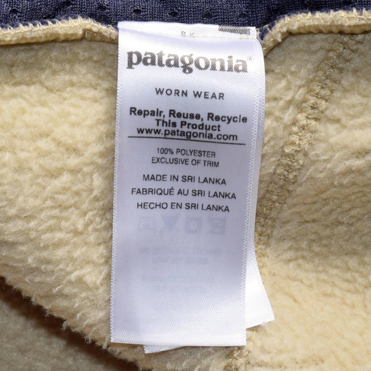 美品!人気カラー patagonia パタゴニア MEN'S retro pile jacket M サイズ レトロパイル ジャケット レトロX 希少カラー _画像5