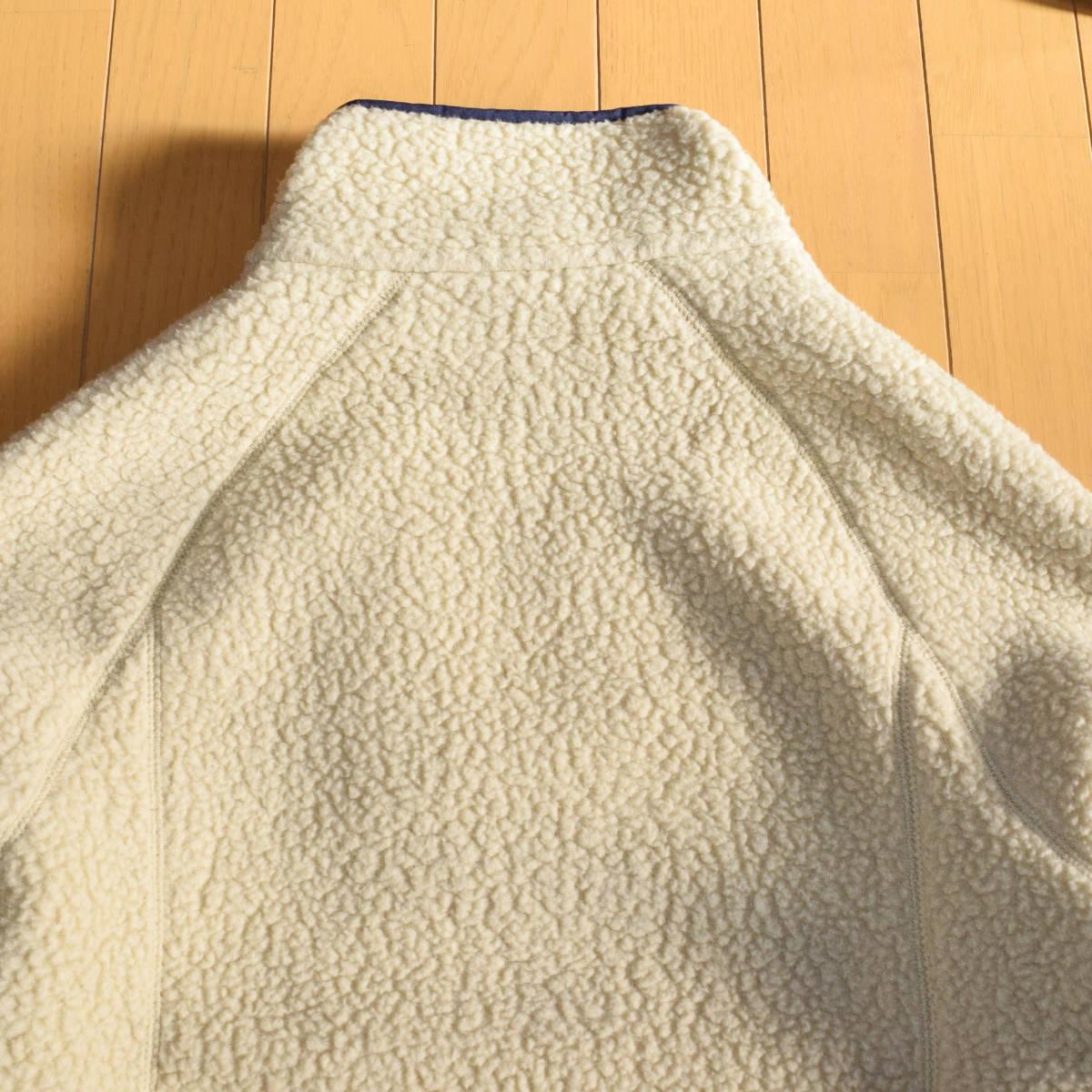 美品!人気カラー patagonia パタゴニア MEN'S retro pile jacket M サイズ レトロパイル ジャケット レトロX 希少カラー _画像10