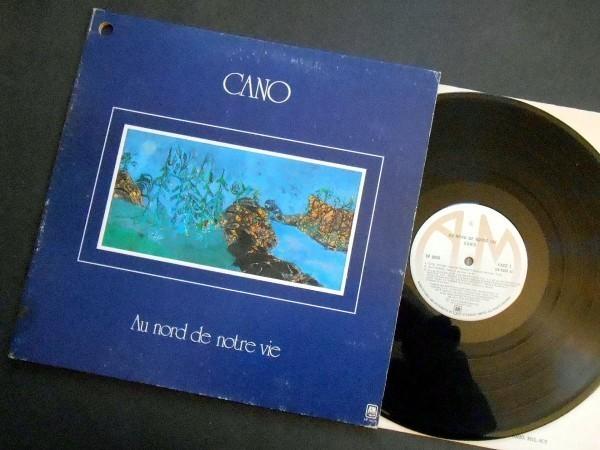CANO Au Nord De Notre Vie カナダ盤LP A&M ケベック プログレ 1977_画像1