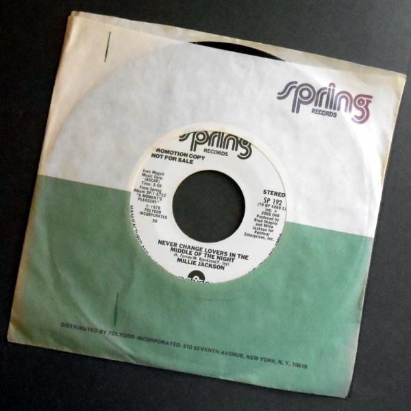MILLIE JACKSON Never Change Lovers ... アメリカ盤PR 1979_画像1
