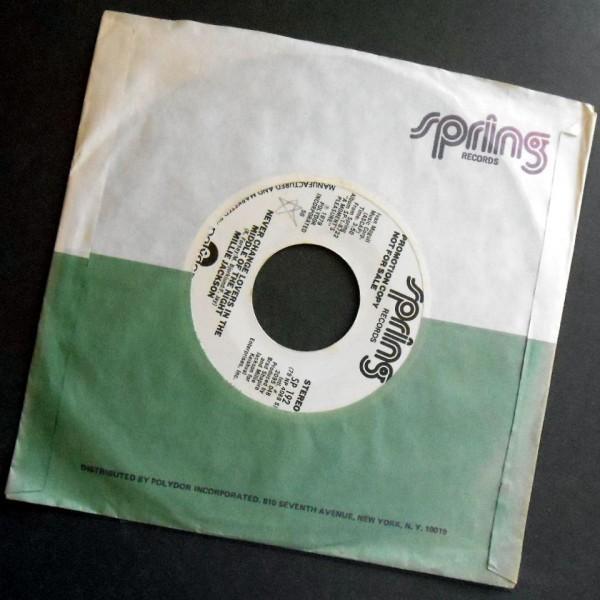 MILLIE JACKSON Never Change Lovers ... アメリカ盤PR 1979_画像2