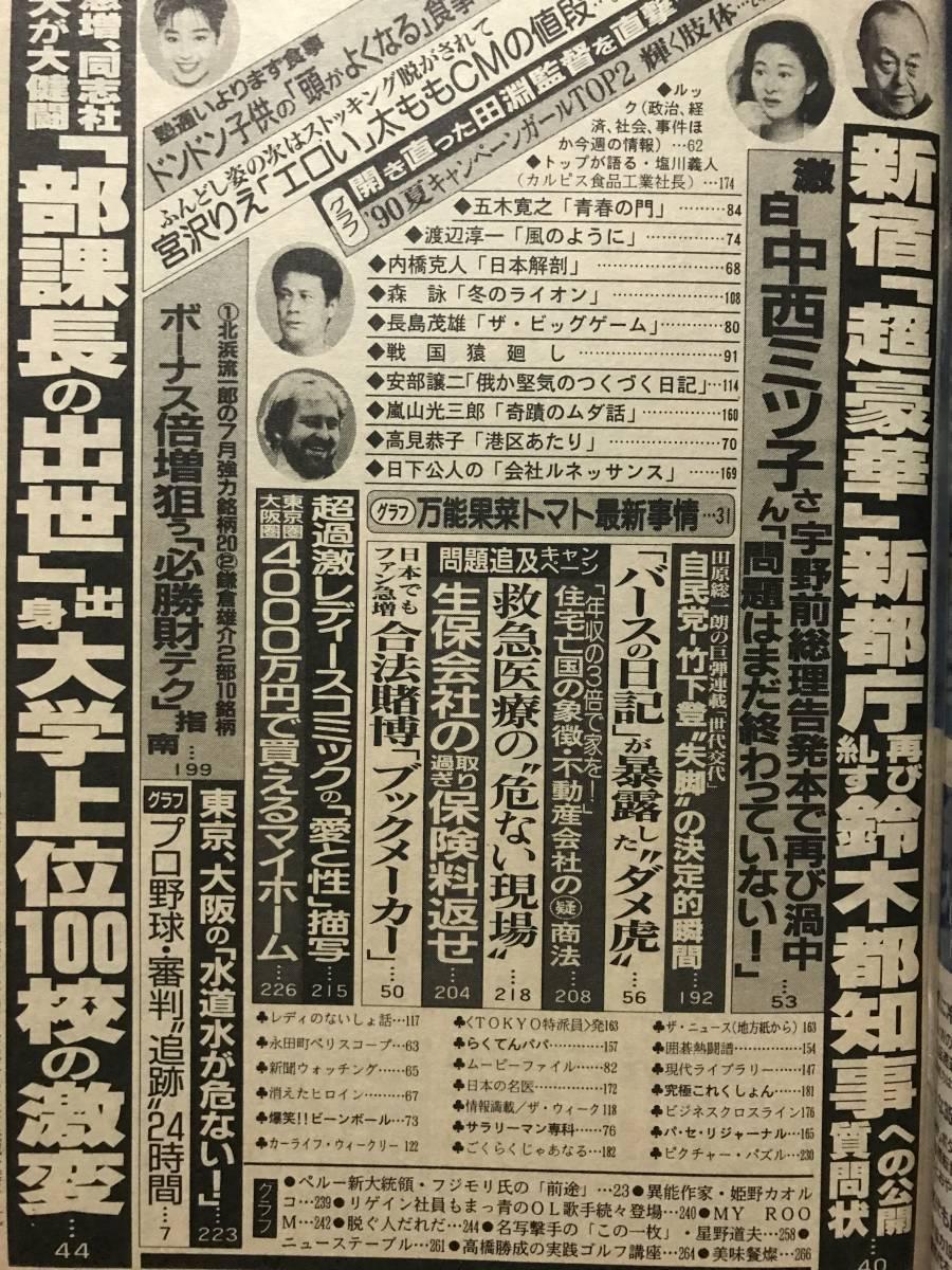 週刊現代 キャンギャル 長田江身子 河口りか ハイレグ水着_画像6