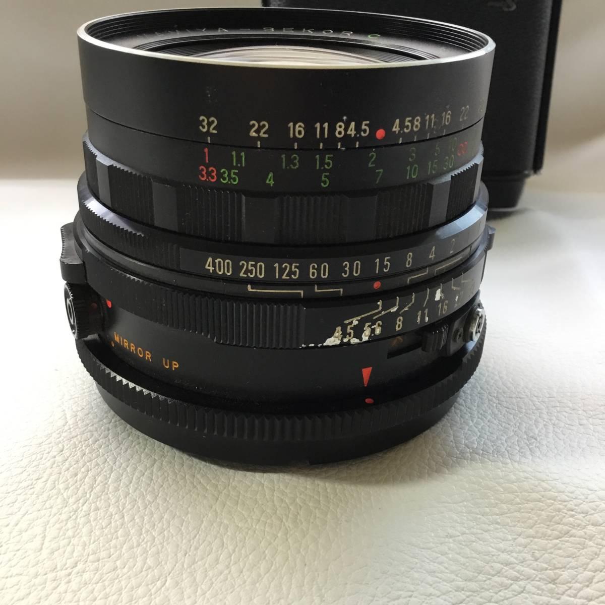 マミヤ Mamiya RB67 PROFESSIONAL S MAMIYA-SEKOR C f=65mm 中判カメラ_画像9