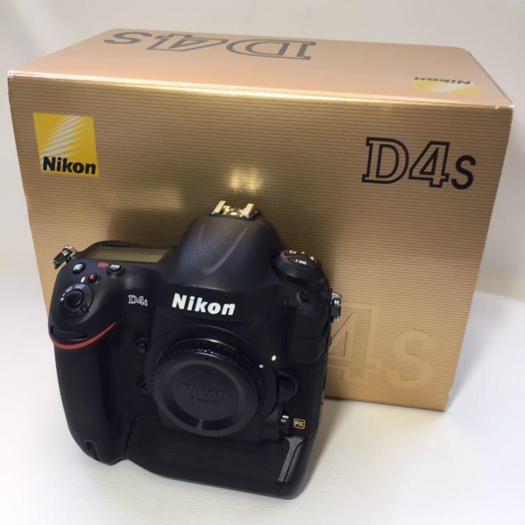 ★新品級 NIKON ニコン D4S ショット数85枚★拍卖