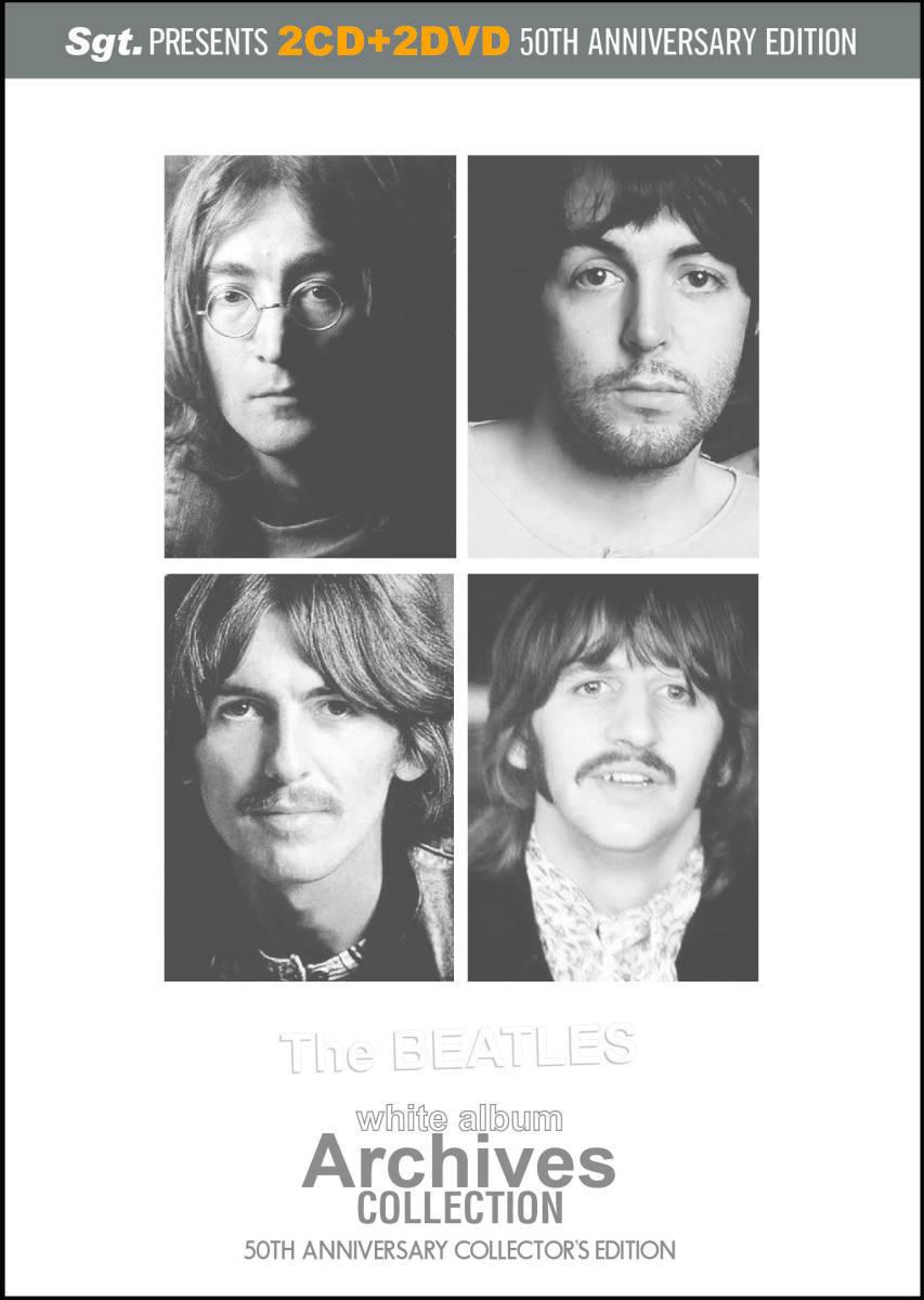 BEATLES ビートルズ WHITE ALBUM 50th ARCHIVES 2xCD + 2xDVD プレス盤 ホワイトアルバム50周年  vol 3 !