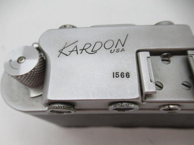 280☆カードン/KARDON USA NHAYCTAP-22 1:3,5 F=50mm ジャンク扱い 1円~_画像8
