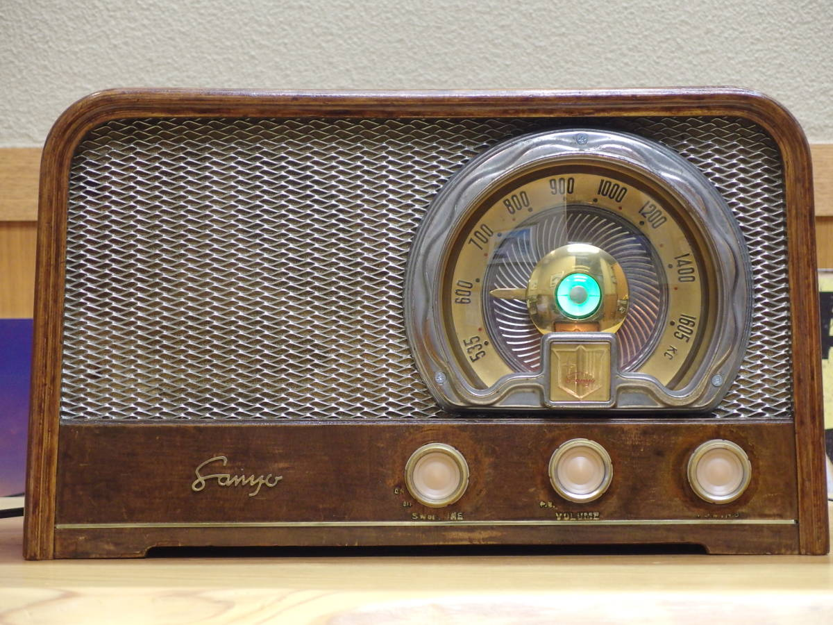 SANYO SS-148 5球スーパーラジオ 整備済み!