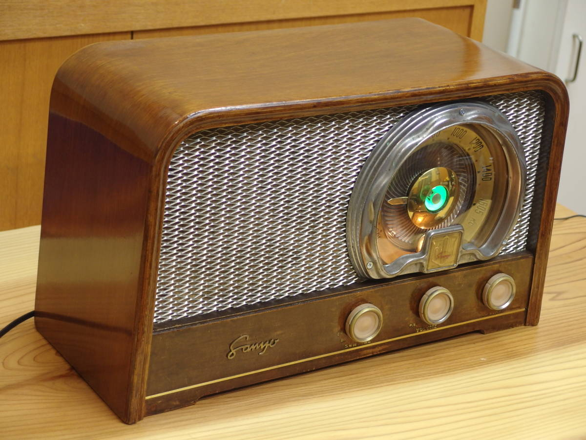 SANYO SS-148 5球スーパーラジオ 整備済み!_画像2