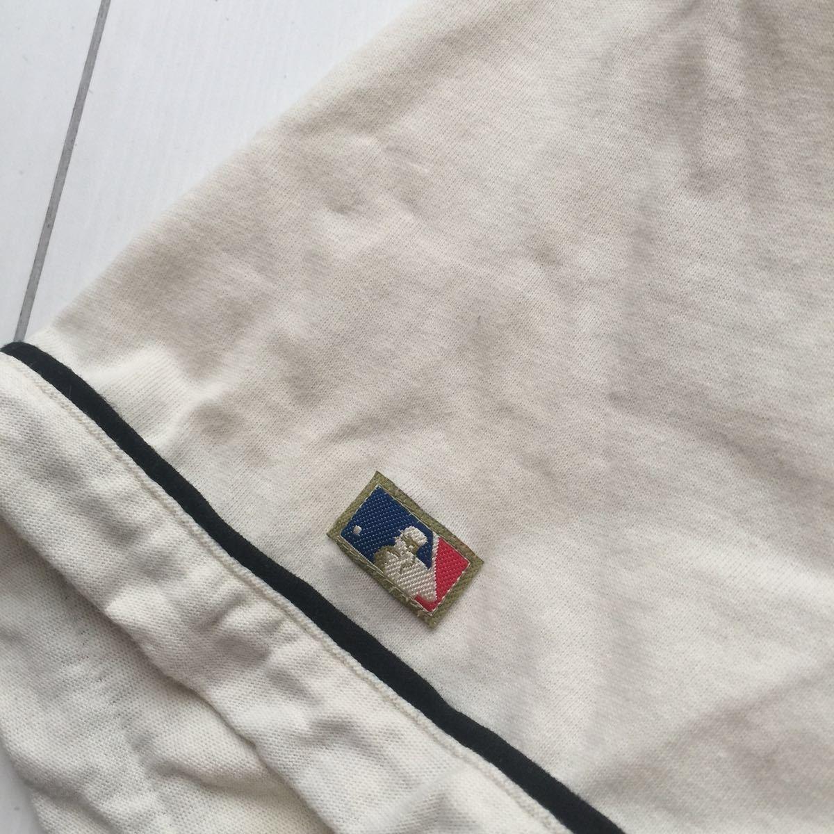 送料無料 coopers town baseball shirt new york yankees クーパーズタウン ヤンキース ベースボールシャツ old オールド 1927 vintage MLB_画像6