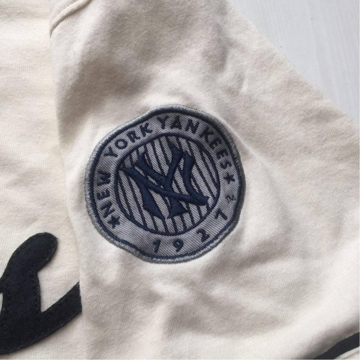 送料無料 coopers town baseball shirt new york yankees クーパーズタウン ヤンキース ベースボールシャツ old オールド 1927 vintage MLB_画像5