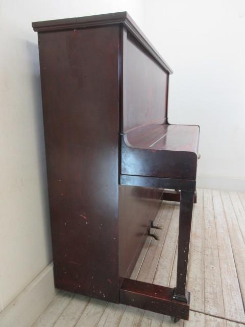 ヤマハ製ピアノ昭和14年日本楽器製     アンティーク店舗什器カフェ什器古家具_画像5