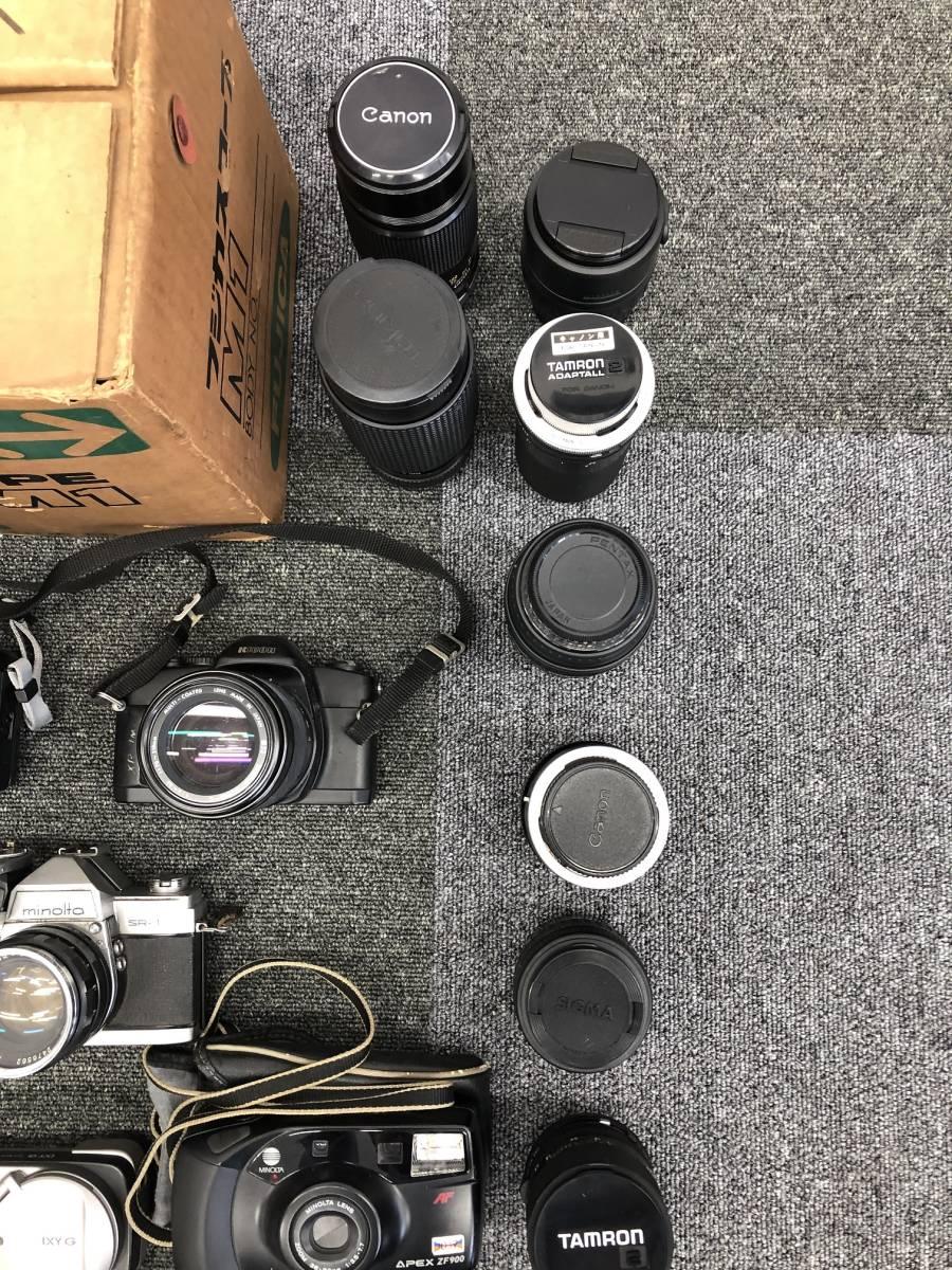 カメラおまとめ③ カメラ レンズ FUJICA PENTAX CANON NIKON OLYMPUS TAMROM TOKIA コニカ 20点以上_画像3
