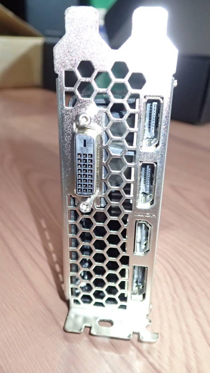 中古品:Palit NE51060015F9-1061D (GeForce GTX1060 3GB DUAL)  _画像5