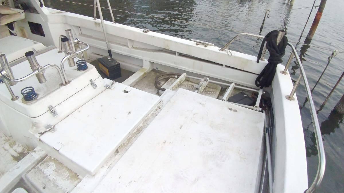 ヤマハ W33-FR-1 和船改造 係留地あり_画像5