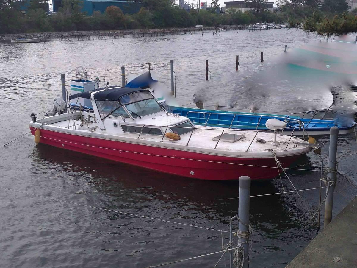 ヤマハ W33-FR-1 和船改造 係留地あり