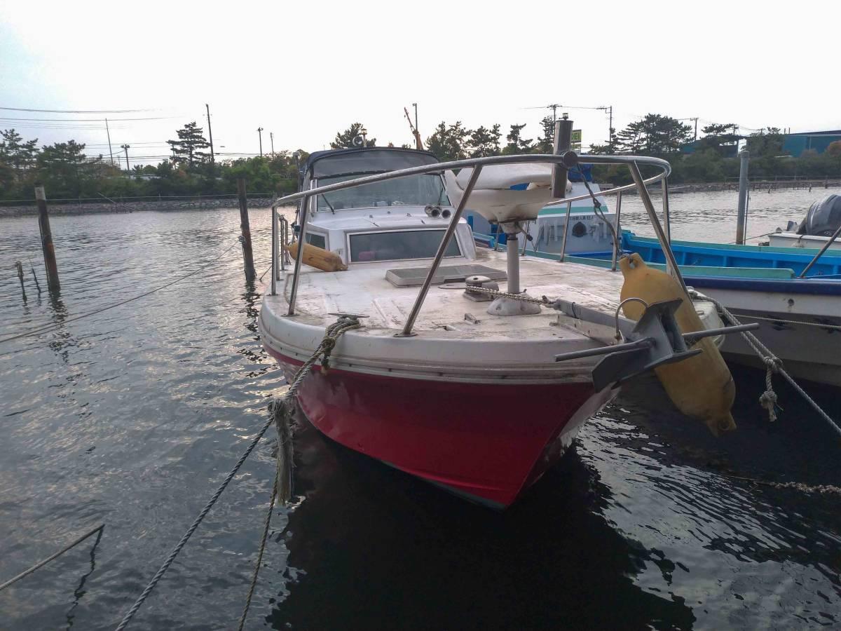 ヤマハ W33-FR-1 和船改造 係留地あり_画像2