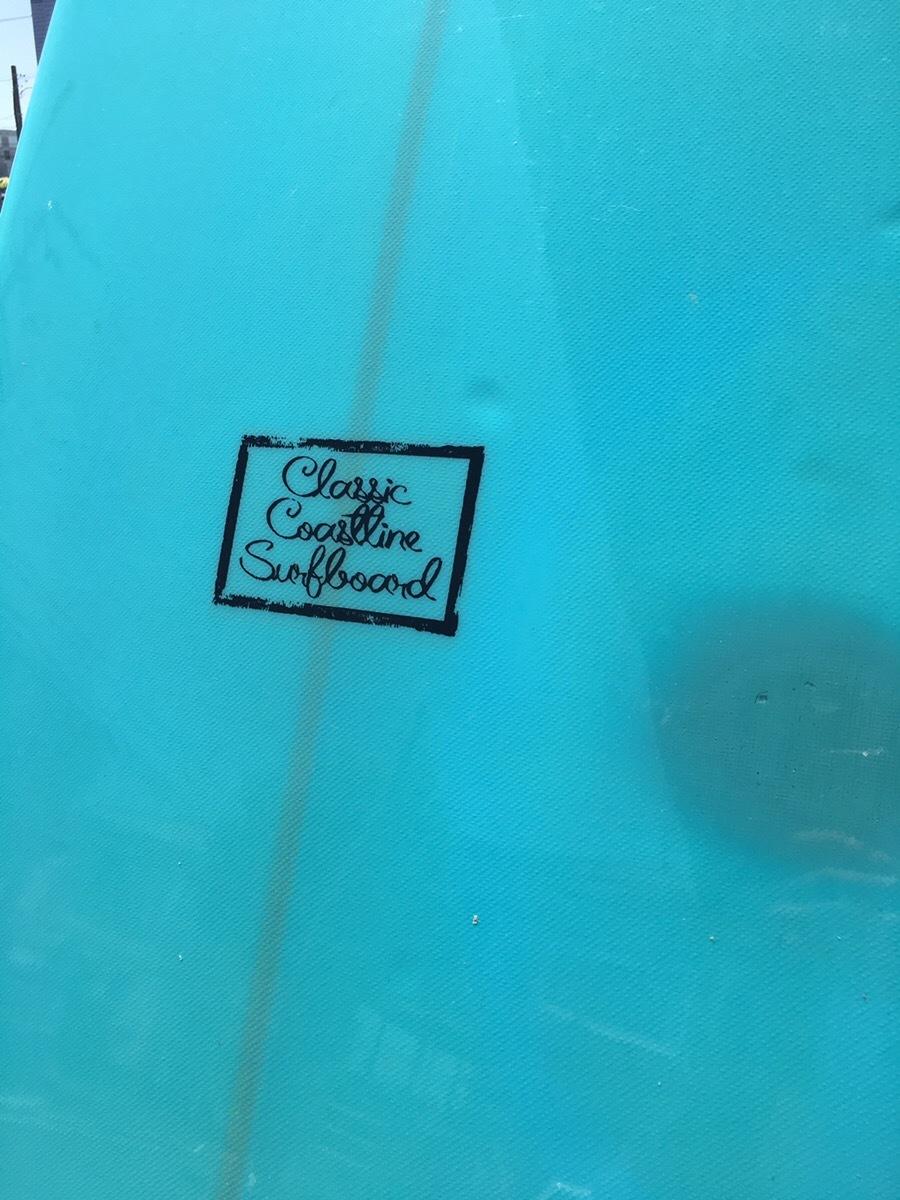 【5,000円スタート!最低落札価格なし!】サーフボード Classic Coastline 中古 クラシックコーストライン ロング ミッドレングス _画像4