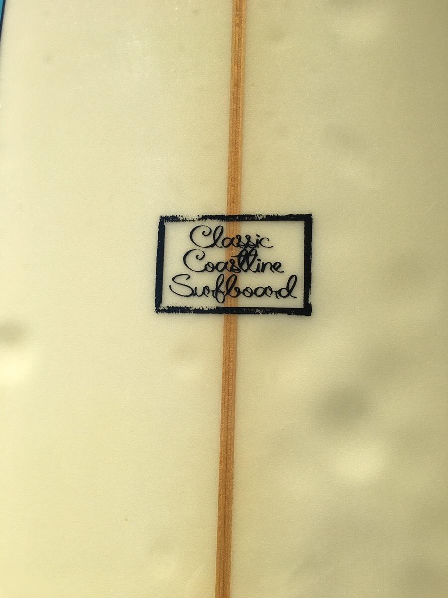 【5,000円スタート!最低落札価格なし!】サーフボード Classic Coastline 中古 クラシックコーストライン ロング ミッドレングス _画像5