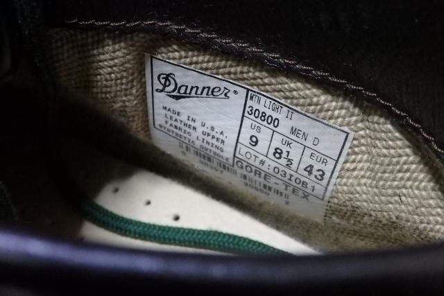 USA製】Danner/ダナー マウンテンライト アウトドア ブーツ こげ茶 ゴアテックス GORE-TEX 27cm程度_画像3