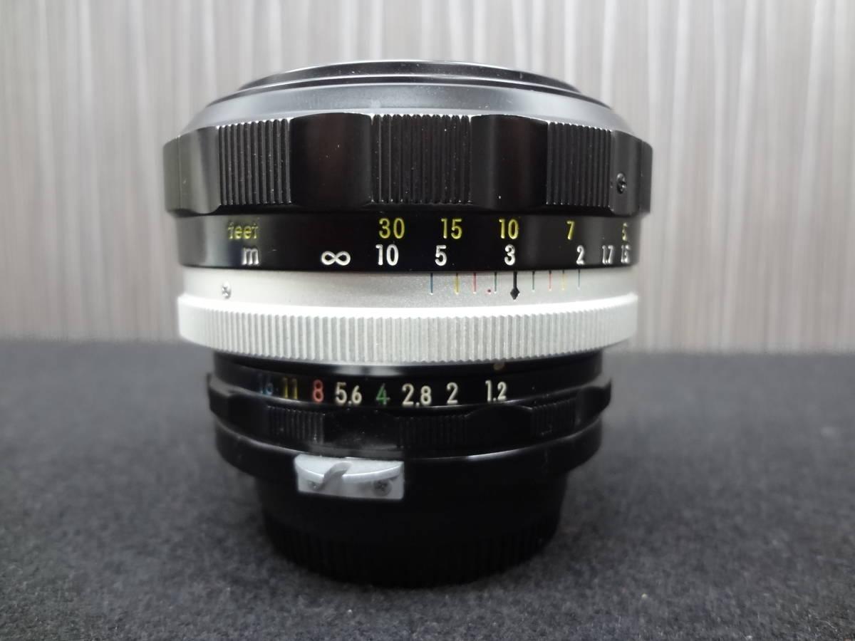 Nikon ニコン NIKKOR-S・C Auto 1:1.2 f=55mm フィルムカメラレンズ / Kenko SKYLIGHT Φ52 レンズフィルター S-05042_画像7