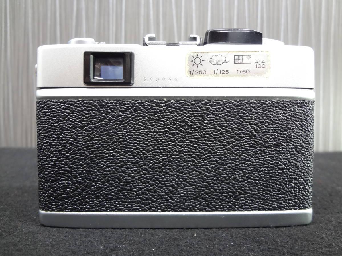 KONICA コニカ C35 FD コンパクトフィルムカメラ / HEXANON 38mm F1.8 レンズ / KAKONET P ストロボ セット S-05048_画像4