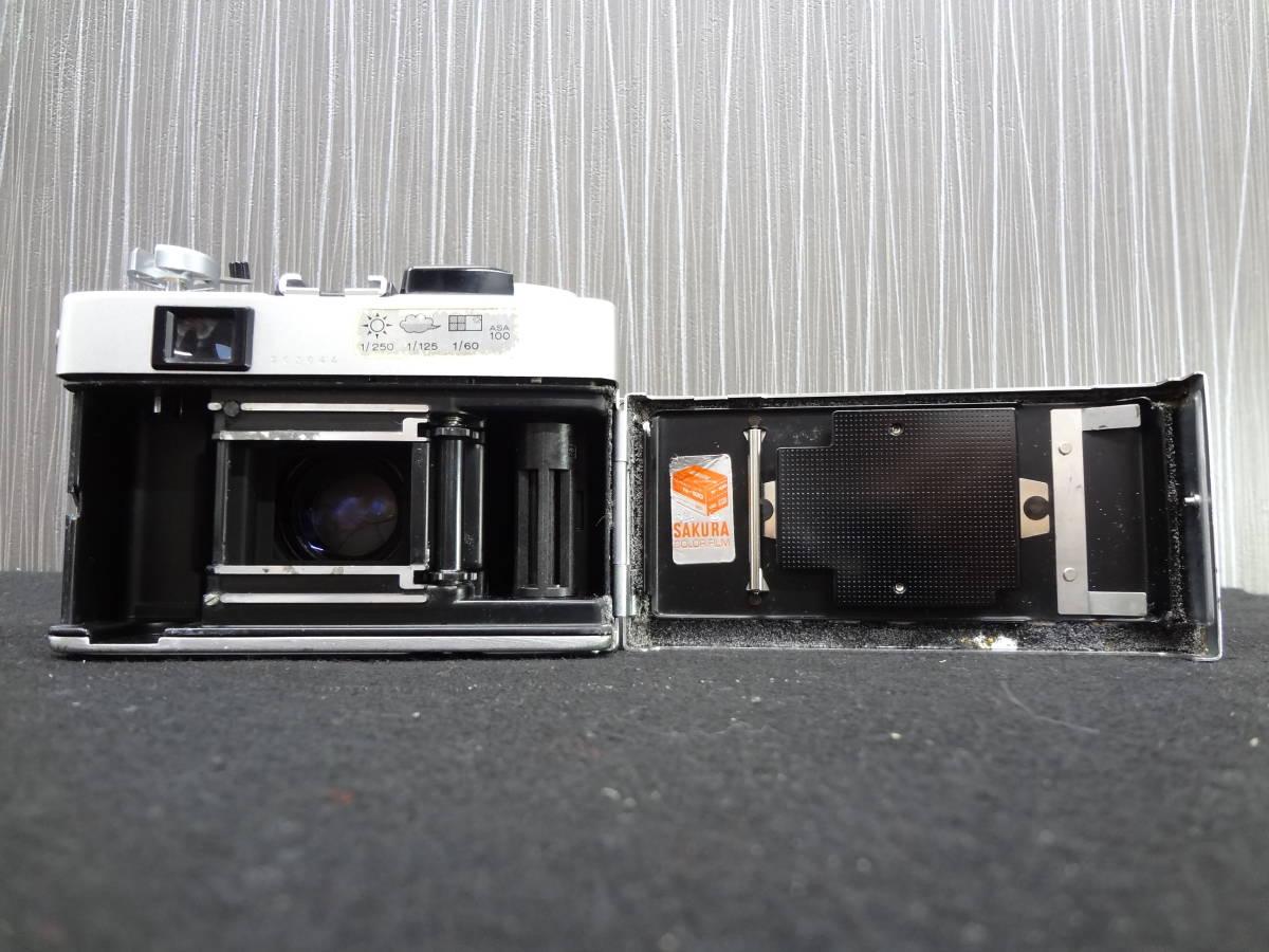 KONICA コニカ C35 FD コンパクトフィルムカメラ / HEXANON 38mm F1.8 レンズ / KAKONET P ストロボ セット S-05048_画像5