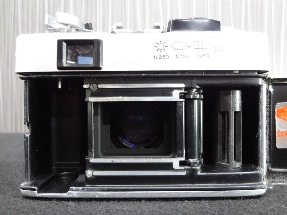 KONICA コニカ C35 FD コンパクトフィルムカメラ / HEXANON 38mm F1.8 レンズ / KAKONET P ストロボ セット S-05048_画像6