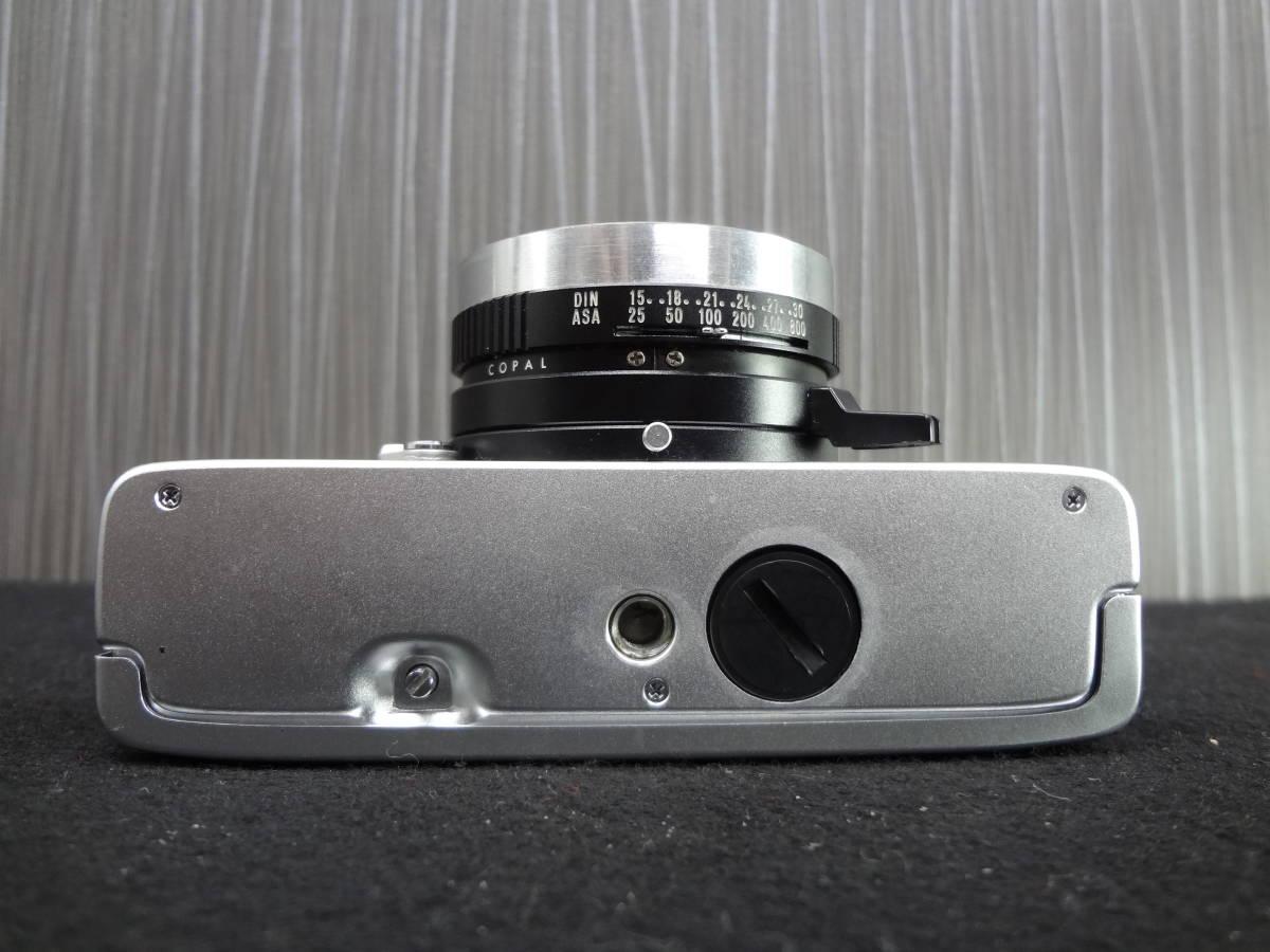 KONICA コニカ C35 FD コンパクトフィルムカメラ / HEXANON 38mm F1.8 レンズ / KAKONET P ストロボ セット S-05048_画像7
