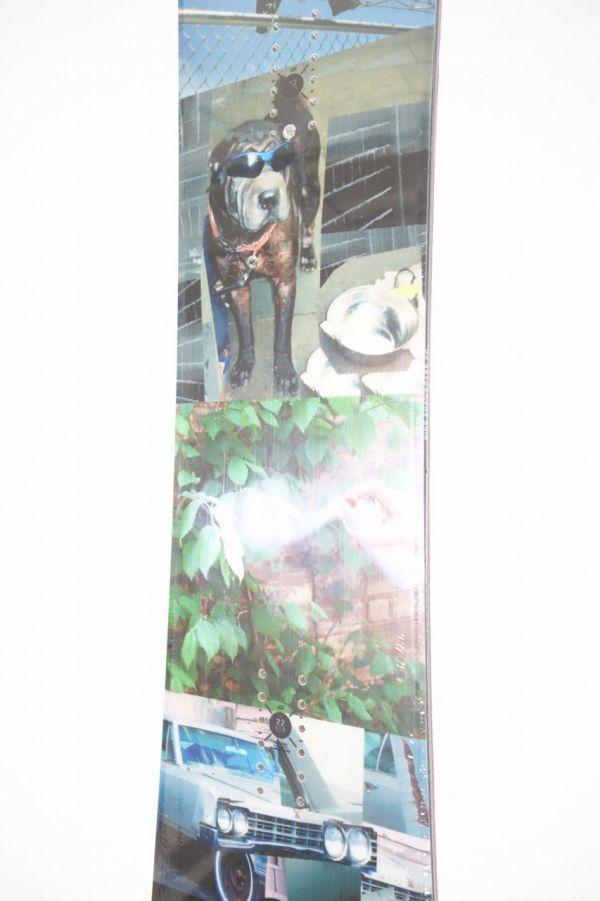 新品 未使用 18/19 2019年 RIDE ライド KINK 151cm キンク スノーボード ハイブリッドキャンバー ツインチップ_画像3