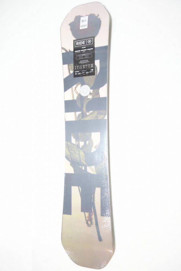 新品 未使用 18/19 2019年 RIDE ライド KINK 151cm キンク スノーボード ハイブリッドキャンバー ツインチップ_画像9