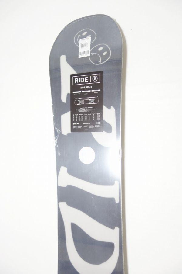 新品 未使用 18/19 2019年 RIDE ライド BURN OUT 152cm バーンアウト スノーボード ハイブリッドキャンバー ツインチップ_画像8