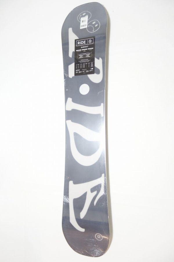 新品 未使用 18/19 2019年 RIDE ライド BURN OUT 152cm バーンアウト スノーボード ハイブリッドキャンバー ツインチップ_画像10